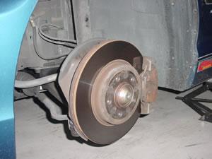 E46タイヤ交換
