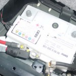 E46 バッテリー交換