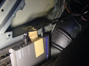 E46トランク内張り
