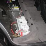 E34ツーリングのバッテリー交換