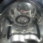 R50 MINI ヘッドライト磨き
