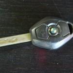 E46電波キーの電池交換