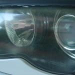 E46 ヘッドライトレンズ交換とイカリング取付